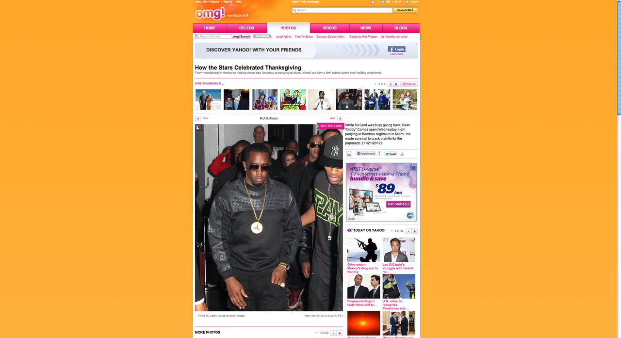 Diddy Yahoo OMG!