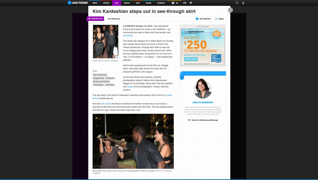 Kim Kardashian & Kanye West ABC News