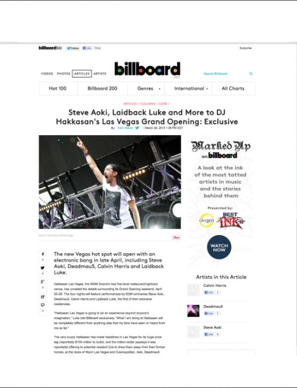 Steve Aoki Billboard miami