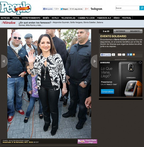Gloria Estefan People En Español miami