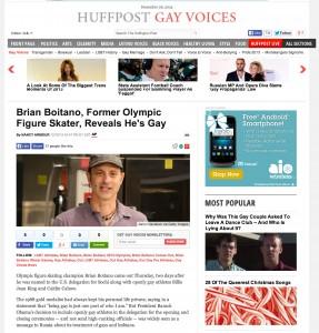 Brian Boitano Huffington Post Miami