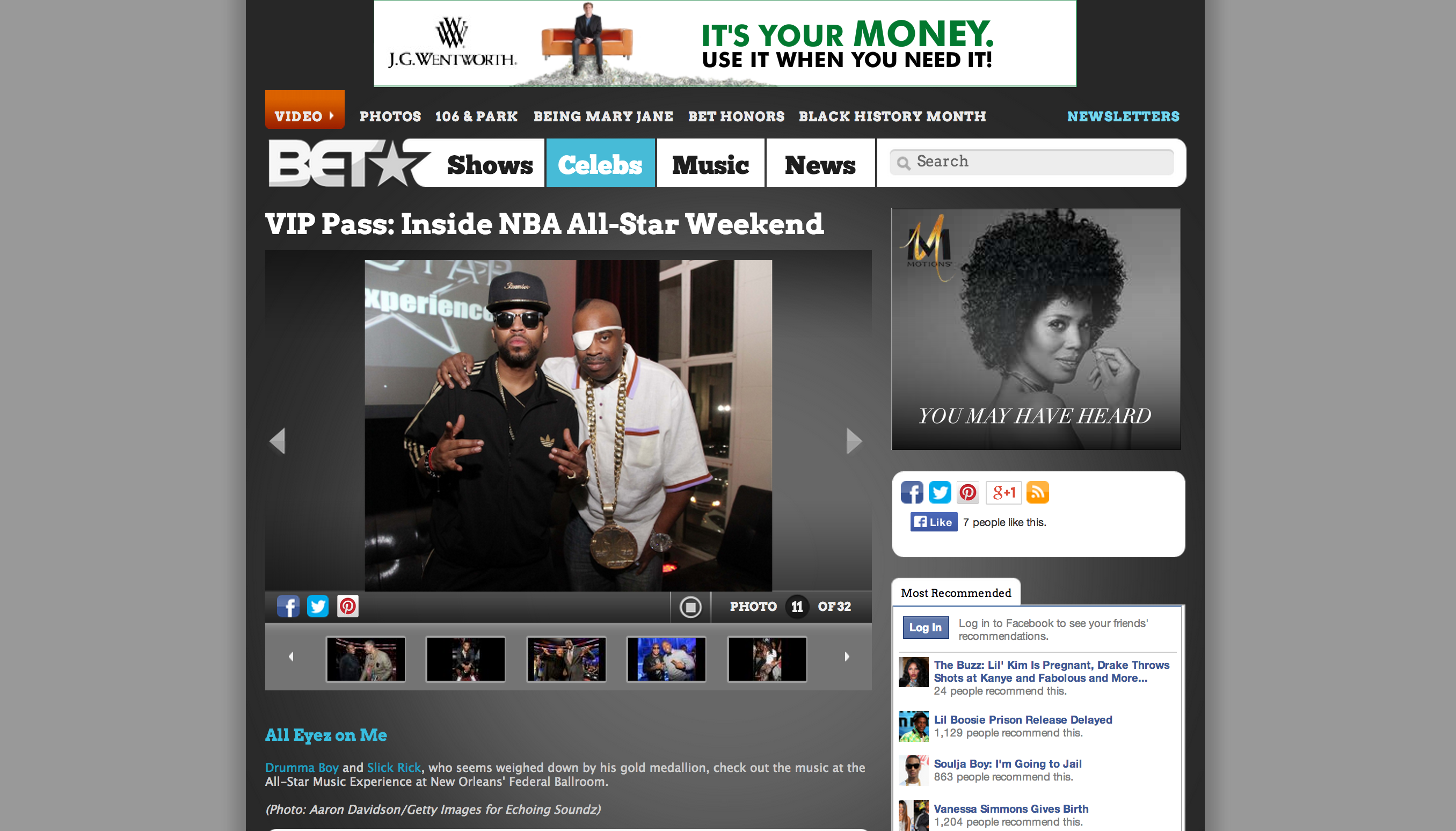 Drumma Boy & Slick Rick Bet.com miami