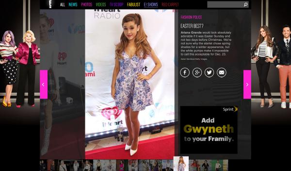 E! Ariana Grande Miami