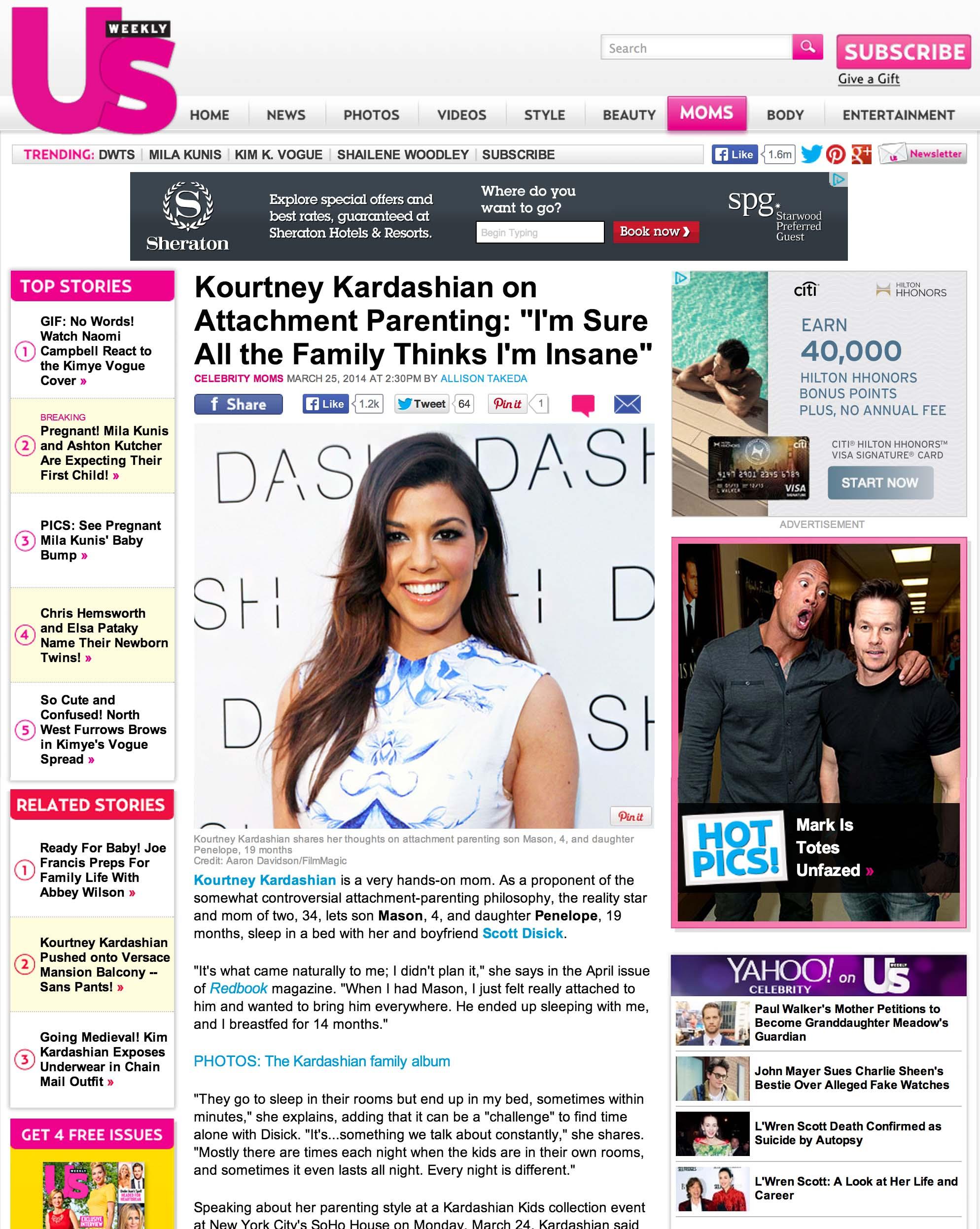 Kourtny Kardashian Us Weekly Miami