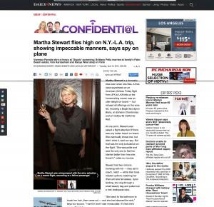 Martha Stewrart New York Daily News Miami