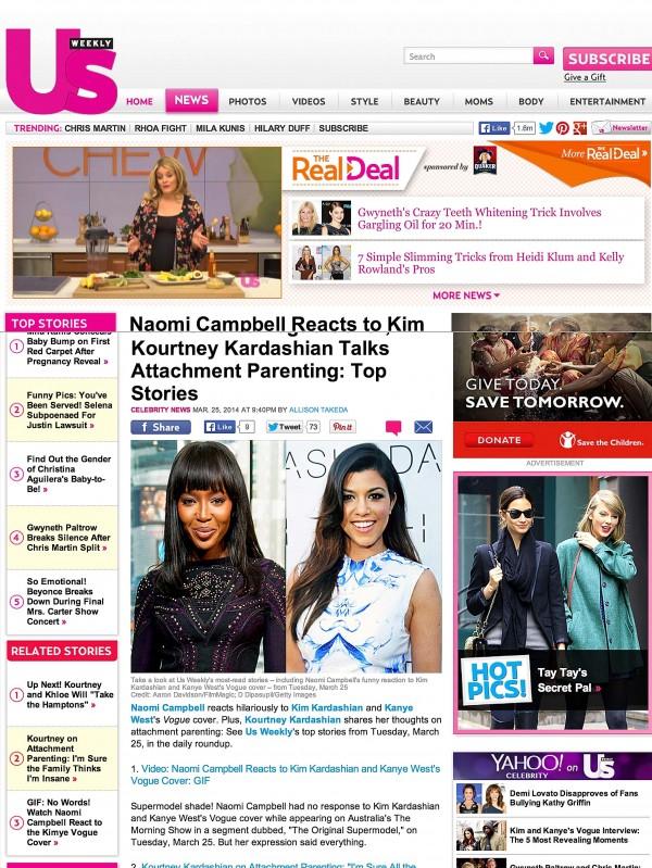 Kourtney Kardashian Us Weekly Miami