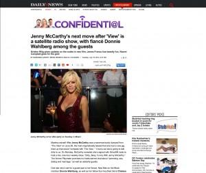 Jenny McCarthy NY Daily News miami