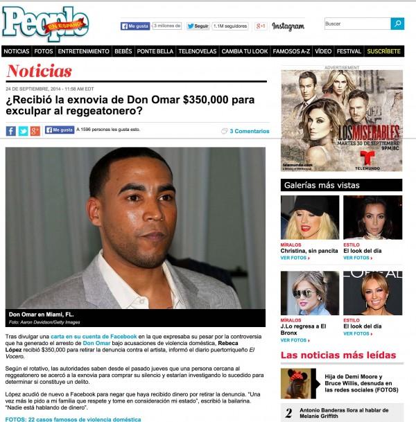 Don Omar People EN Espanol Miami