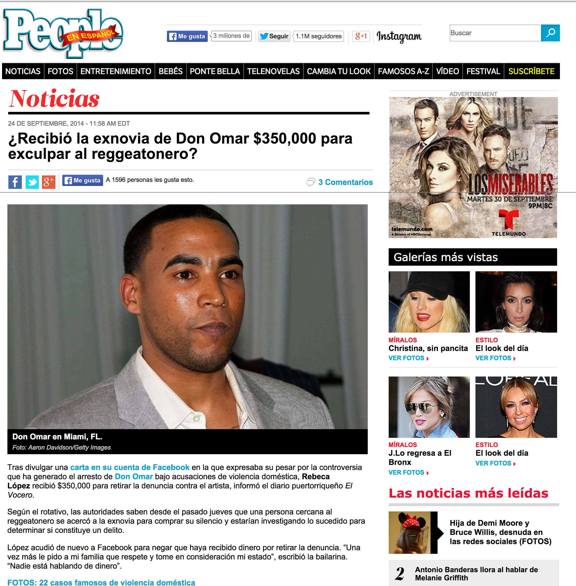 Don Omar People EN Espanol