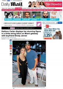 Brody Jenner Kaitlynn Carter Daily Mail Miami