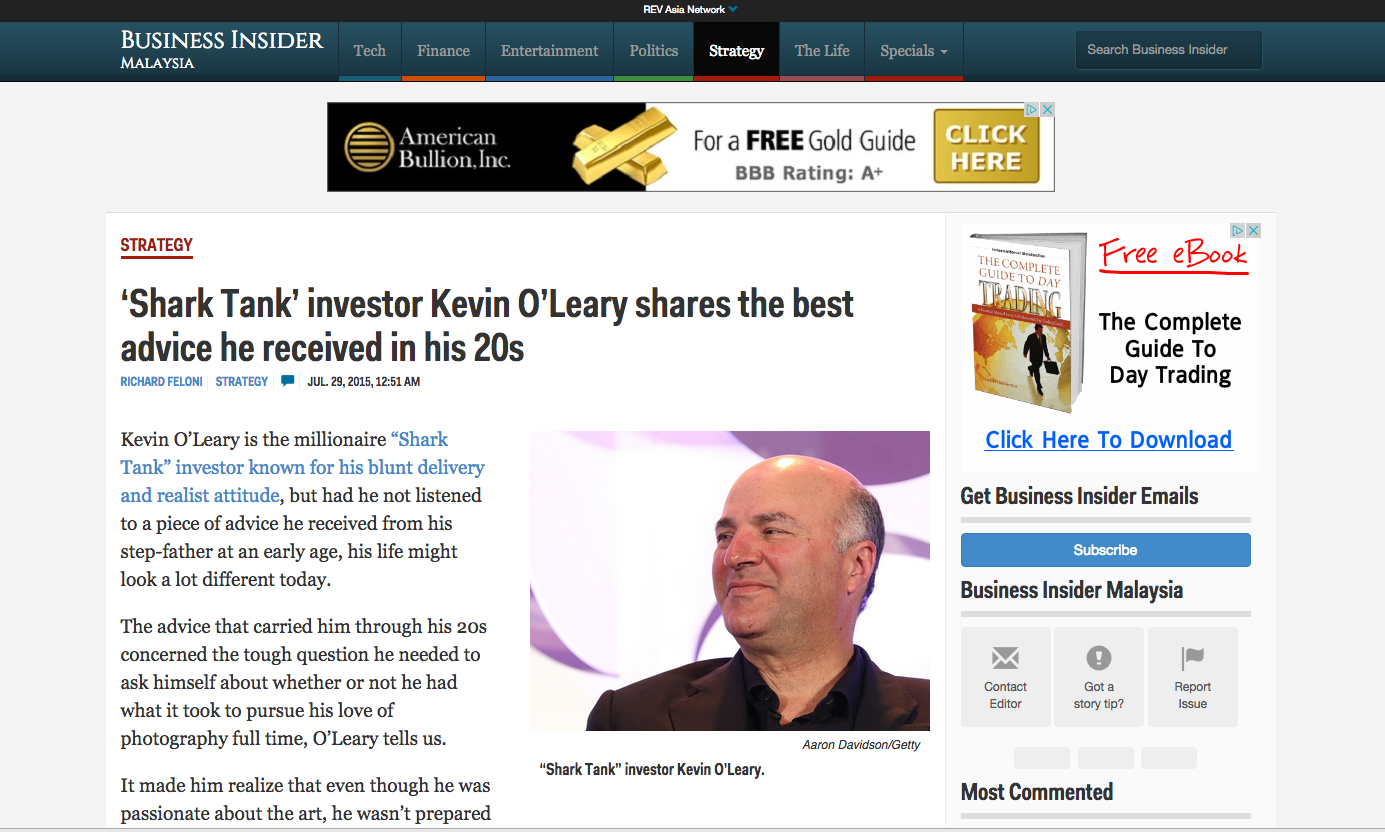 Kevin O'Leary Business Insider