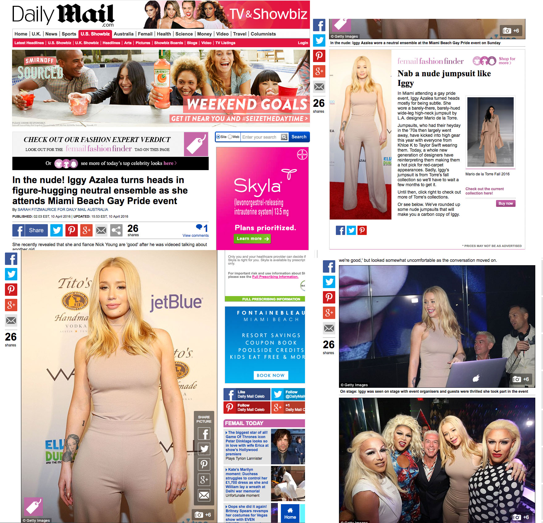 Iggy Azalea Daily Mail