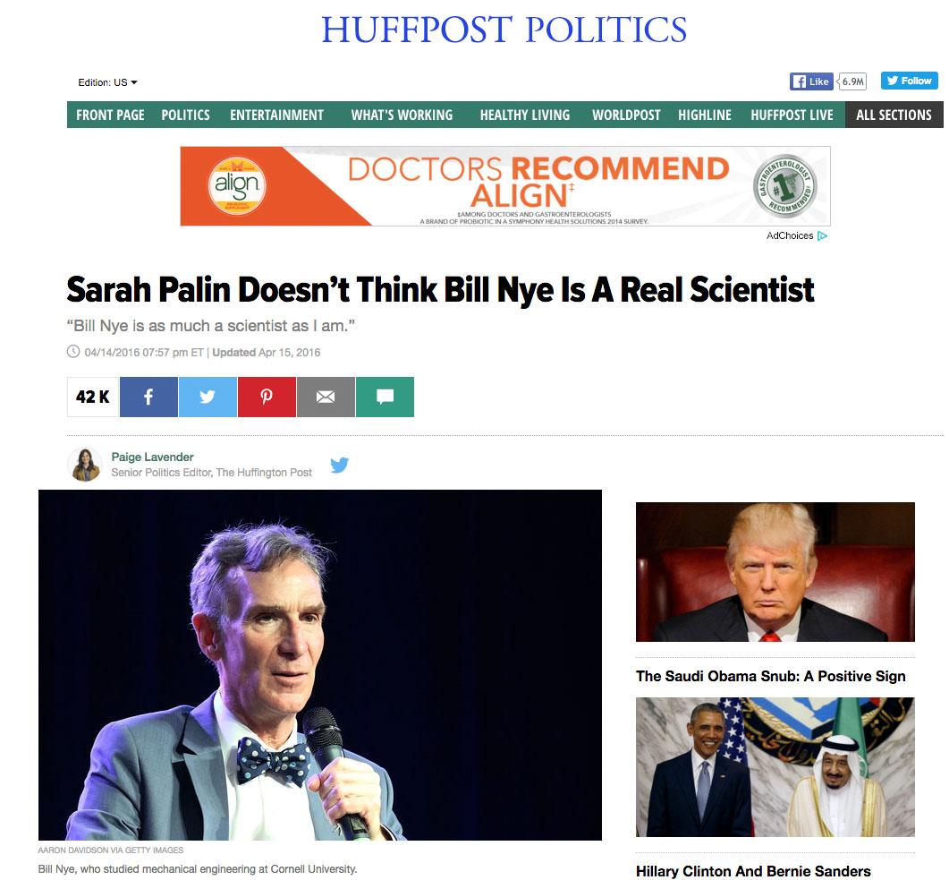 Bill Bye Huffington Post