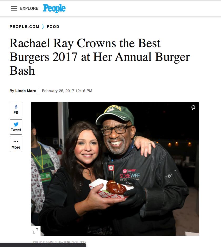 Rachel Ray Al Roker People